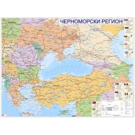 ЧЕРНОМОРСКИ РЕГИОН - ПОЛИТИЧЕСКА КАРТА