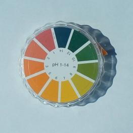 ИНДИКАТОРНА ХАРТИЯ  pH 1-14, РОЛКА 5 М